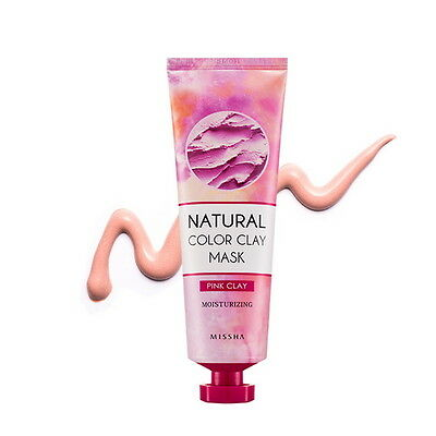 [Missha] Natural Color Clay Mask 137g 4 Types