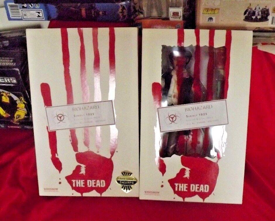 Sideshow los muertos Babysitter exclusivo tema Zombie 1025 Figura De Acción