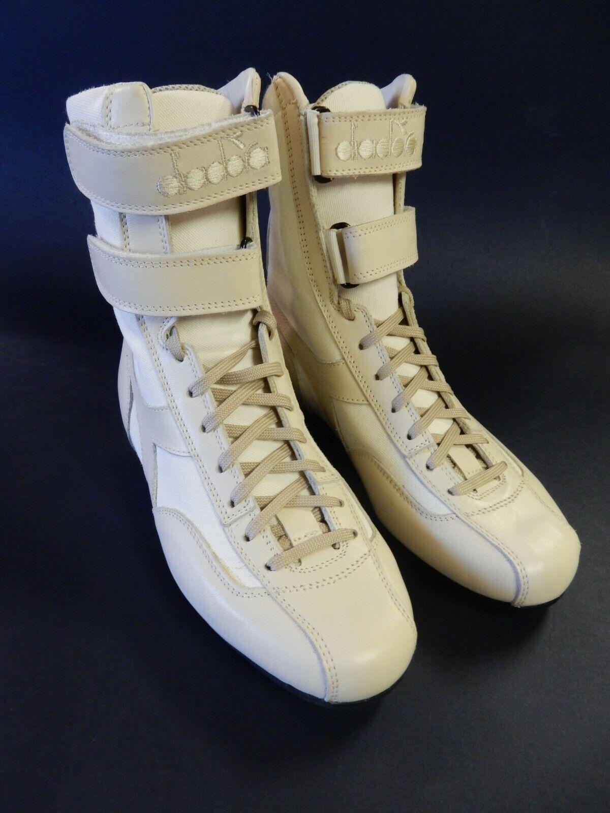 Diadora Diadora Diadora HERITAGE GP Fórmula n Entrenador botas Beige Tamaño UK 4  100% precio garantizado