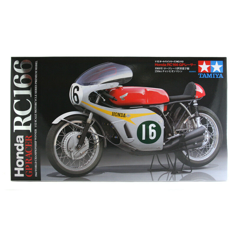 Tamiya Honda RC166 GP Racer Racer Racer Motorcycle (Scale 1 12) 14113 NEW a49a90