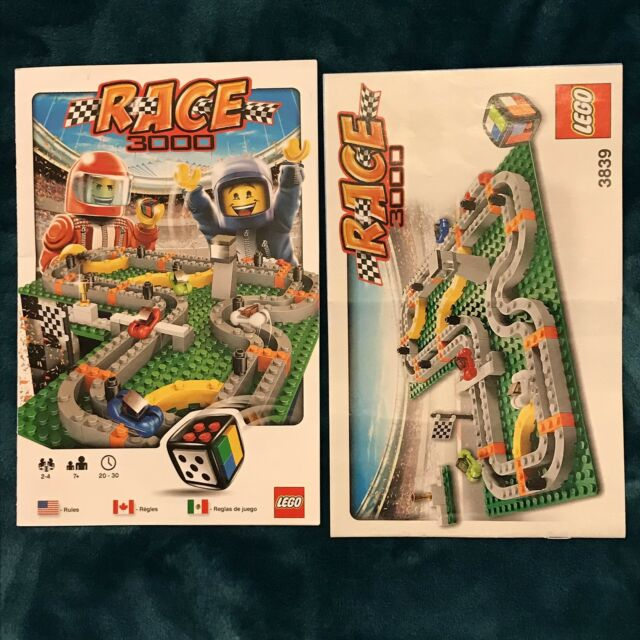 Lego Race 3000 Game 3839 Complete W Instructions Ebay