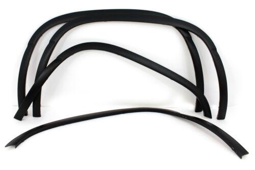 02-06 AVALANCHE TRUCK MATTE BLACK FENDER FLARE WHEEL WELL MOLDING TRIM WARRANTY