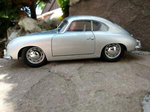 Porsche-356-couleur-argent-au-1-18eme-21cm-Solido-neuve