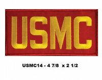 Usmc Letters Red And Yellow Patch - Usmc14