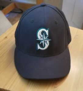 the best attitude 1fd5f ff24a Image is loading Seattle-Mariners-Fitted-New-Era-59FIFTY-hat-Size-