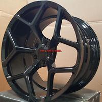 20 Mrr Wheels Chevy Camaro Zl1 Black Z28 Rims Rs Ss 20x10 20x11 Ls Lt1 22