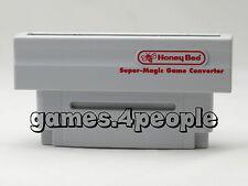 Honey Bee Importspiele-Adapter ( US NTSC JAP auf PAL ) für Super Nintendo / SNES