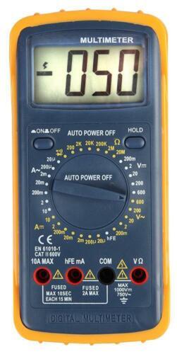 Duratool-D03143-Multimètre numérique