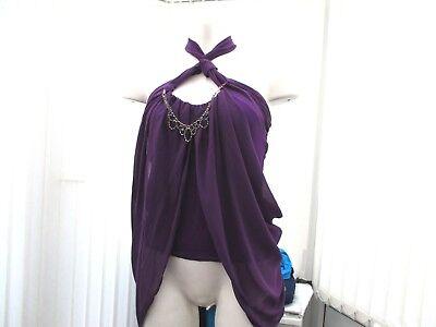 """""""lili"""" Donna Royal Purple Eve Top Taglia 12-mostra Il Titolo Originale"""