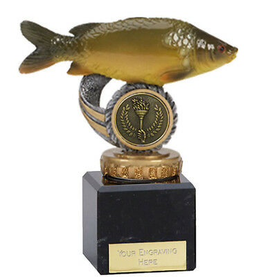 FISHERMAN SEA ANGLING ANGLER TROPHY 2 SIZES AVAILABLE ENGRAVED FREE TROPHIES