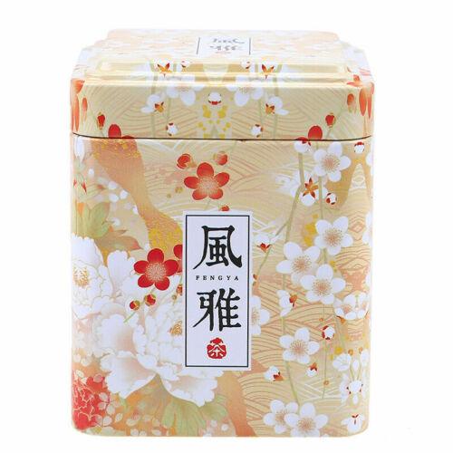 Metal Storage Square Box Candy Trinket Tin Jewelry Iron Tea Coin Boxes Case Gift