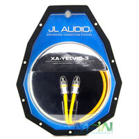 Jl Audio Xa-yelvic-3 3 Ft. Single Channel Rca Premium Video Interconnect Cable