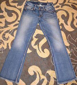 Silver Jeans Suki Surplus Bootcut Jeans Size 25/32 Women's ...