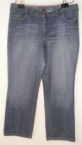 cac9e7d58cc VENEZIA LANE BRYANT WOMEN S MISSES SIZE 20 AVG BLUE DENIM STRETCH ...