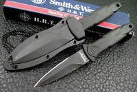 Smith & Wesson Hrt Boot Knife, Neck,hard Sheath Swhrt3 Prepper Tactical B11