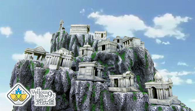 Saint Seiya Myth Cloth Scene Montagne de Sanctuary (Médium)