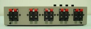 LUXMAN-Speaker-Line-Selector-Silver-Gray-AS-5III-Japan-import-F-S-New