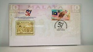MALAYSIA-57th-Independence-Celebration-2014-Stamp-FDC
