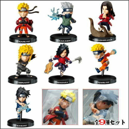 Bandai Naruto Ninja Shippuden Mini Deformation Figure Part 3