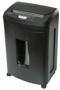 GENIE-110AFX-Aktenvernichter-Automatischer-Einzug-fuer-bis-zu-100-Blatt-Reisswolf