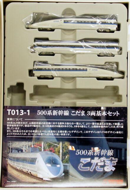 Rokuhan T013-1 Z Scale JR Series 500 Shinkansen 'Kodama' 3 Cars Set