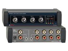RDL EZ-MX4L 4X1 Stereo Line-Level Audio Mixer