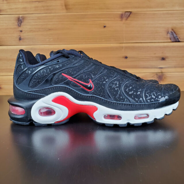 Size 8 - Nike Air Max Plus TN Black Red for sale online   eBay
