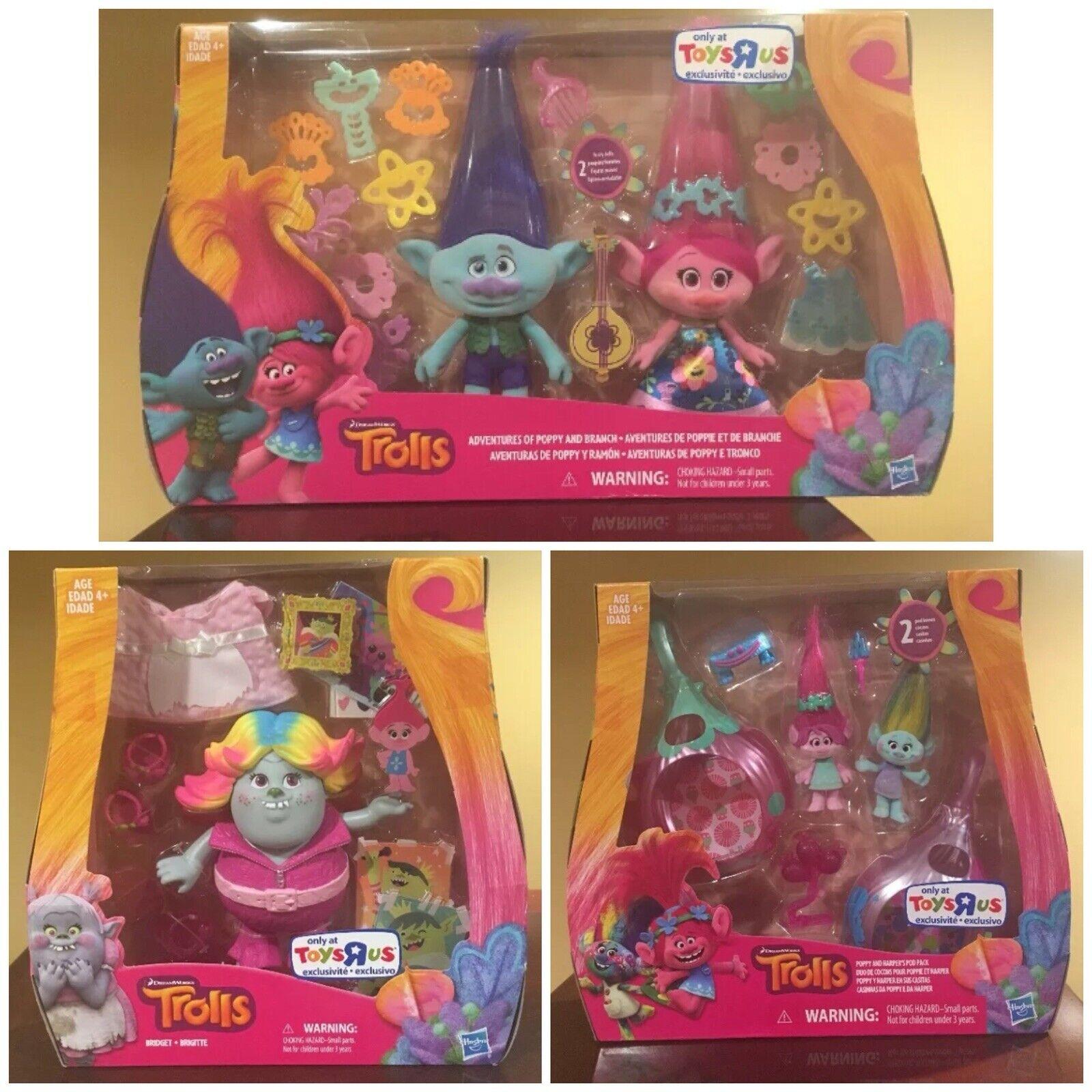 La Joya de la juguetería de los trolls, Bridget, Bridget, Bridget, la amapola, el juguete contra la lucha. 04b