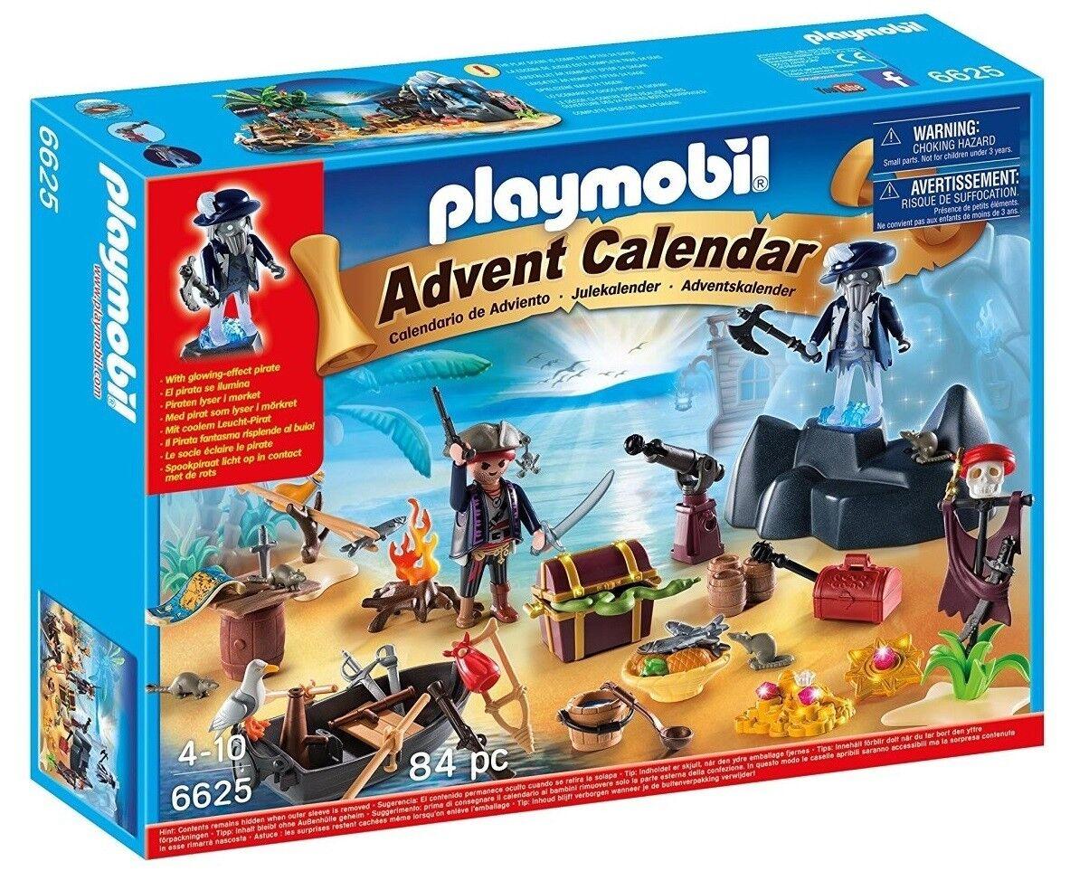 Playmobil 6625 - Calendario de Navidad Isla del Tesgold Pirata - NUEVO