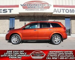 2013 Dodge Journey R/T AWD, HTD LEATHER, LOADED FLAWLESS LOCAL TRADE