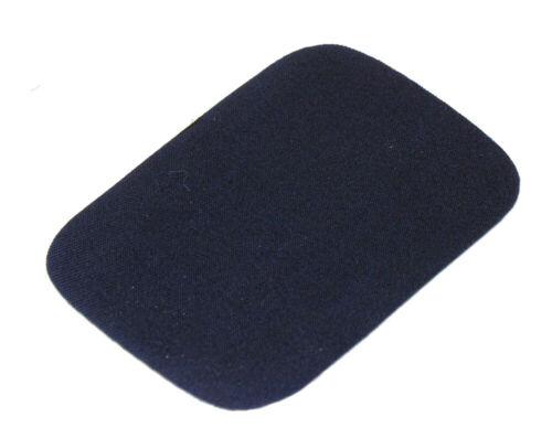 4 jeansflicken para plancha bügelflicken aufbügler jeans azul aprox 7,5 x 10,5 cm