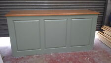 solid pine shop counter/home drinks bar/made to measure/farrow and ball finishes