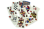 Charlemagne-Playing-Cards-New-Figures-SWAROVSKI-CRYSTAL-Limited-Edition-S thumbnail 2