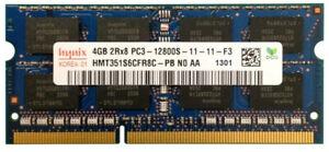4GB-DDR3-SO-DIMM-1600-Mhz-PC3-12800S-Notebook-RAM-HYNIX-HMT351S6CFR8C-PB