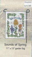 Home Decor Garden Flag (sounds Of Spring) 11x15