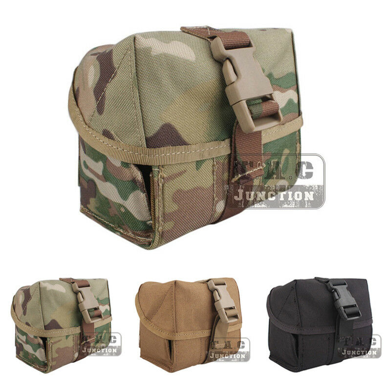 Tactical Molle Pouch Belt Pack Bag Military Pocket Backpack with 7 Shells