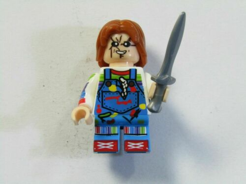 Chucky Child/'s Play Custom Minifigure//Fridge-magnet Stocking Filler