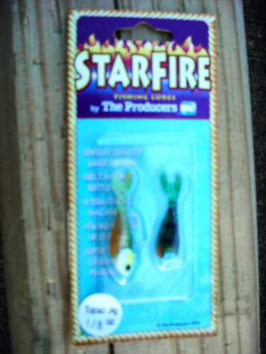 12-Les producteurs Starfire SHAD Topaz Jig-CHARTREUSE-Taille 1//8