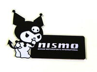 X1 Nissan Infiniti Kuromi Devil Hello Kitty Emblem Japan Rare Jdm