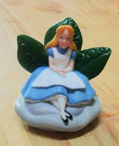 Disney Alice in Wonderland Lenox Porcelain Figurine Thimble Box & Certificate