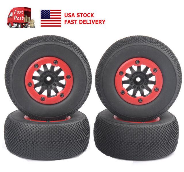 US 110 Short Course Truck TireBeadlock Wheel 12mm Hex For TRAXXAS Slash RC Car