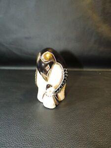 ( DeRosa) ARTESANIA RINCONADA Silver Anniversary Penguin and Chick  #752