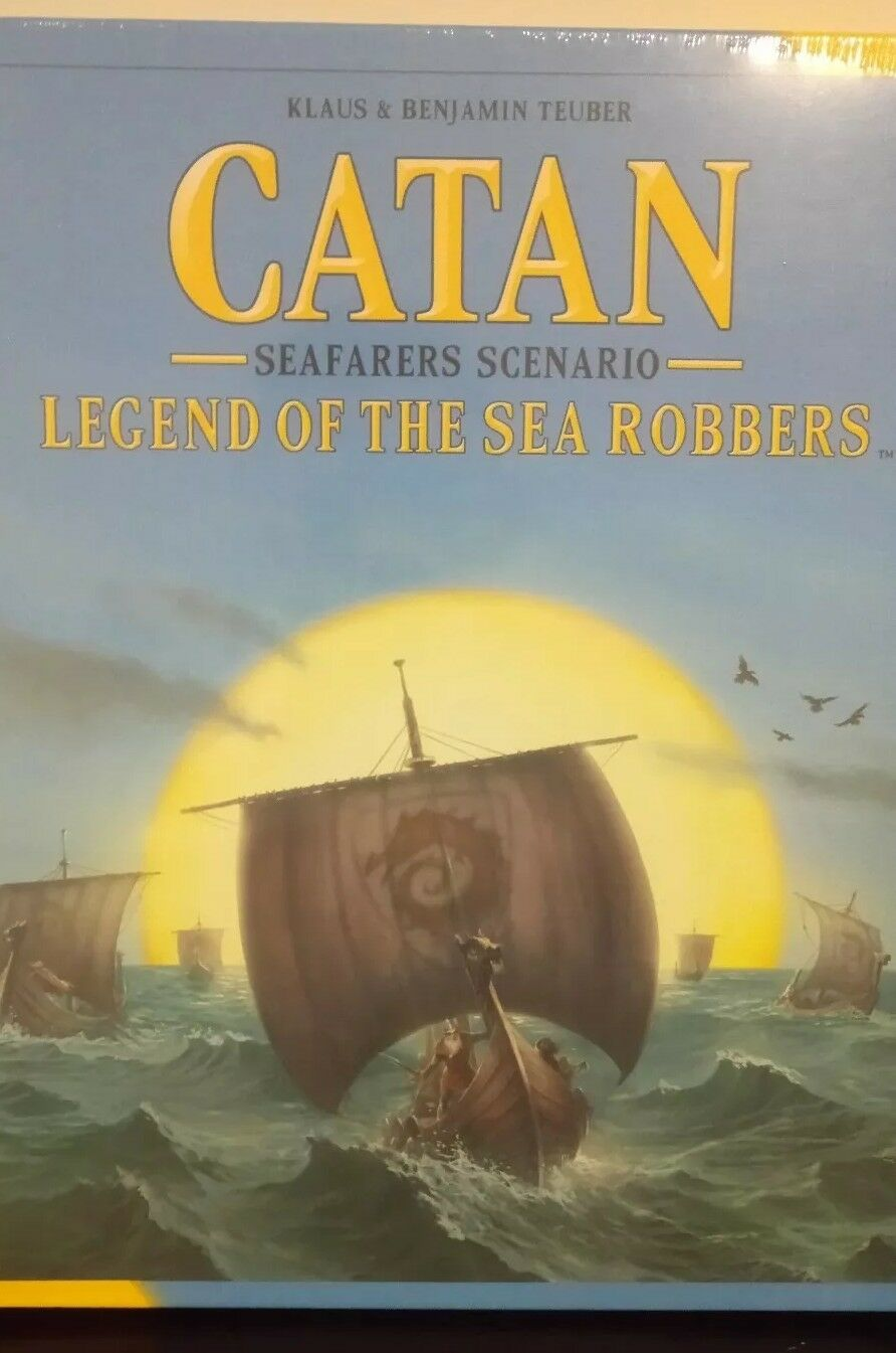 Catan  Legend of the Sea Robbers Board Games New & Sealed