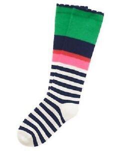 Gymboree-Brightest-in-Class-Multi-Colored-Striped-1-Pr-Sock-Size-3-4-NEW