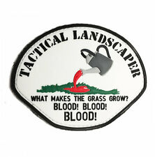 TACTICAL LANDSCAPER REFLECTIVE infantry military tactical PVC Morale Patch