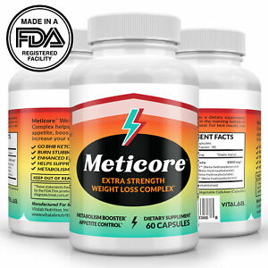 Meticore Extra Strength Weight Loss Supplement Metabolism Appetite Control