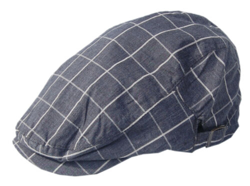 Cool4 Anthrazit Dunkelgrau Karo Flatcap Gatsby Schiebermütze Vintage Cap SFC01
