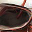 NWT-MICHAEL-KORS-MERCER-LARGE-DOME-LEATHER-SATCHEL-CROSSBODY-BAG-ORANGE thumbnail 3