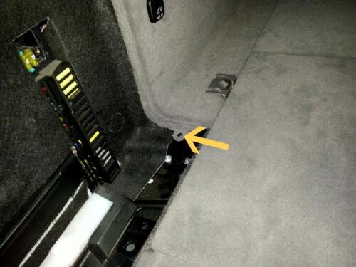 15x Abdeckung Clip Befestigung Klips Spreizniet für BMW Peugeot 5mm schwarz 137A