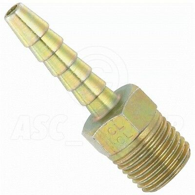"""MALE THREAD TO 1//2/"""" 12.7mm 1//4/"""" BSP PCL ADAPTOR SCREWED TAILPIECE HOSE QTY 1"""